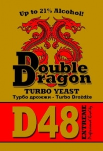 Дрожжи Double Dragon D48 Extreme Turbo